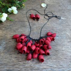Red flower - Red gifts by Arye Guery on Etsy