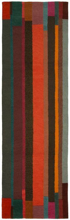 Doug and Gene Meyer - RIBBON STRIPES - our latest rug.