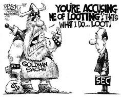 Goldman Sachs Above the Law