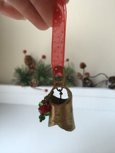 A personal favorite from my Etsy shop https://www.etsy.com/listing/254835245/small-vintage-brass-bell-christmas