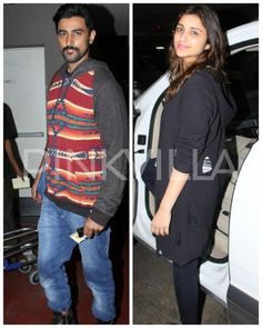 Warm and Cozy! Parineeti and Kunal are winter ready as they get snapped at the airport!