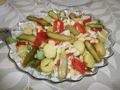 Ensalada de Patatas y Alubias del blog El Recuncho de Sol