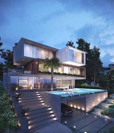 Fachadas Mansiones Modernas 3