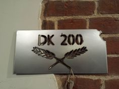 Dirty Kanza 200 Metal plaque by whattawaist on Etsy https://www.etsy.com/listing/192449898/dirty-kanza-200-metal-plaque