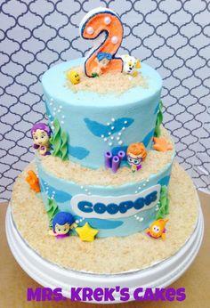 Bubble Guppies - Cake by Jen