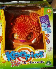 Xeno Koopies In Orange,  NEW in box children Interactive  toys for girls & boys