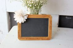 southern antique vintage chalkboards .  set of 2 table country barn table numbers . by montanasnow