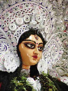 Goddess Durga at the Navarathri festival