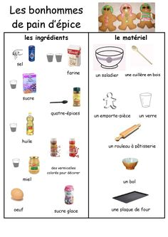 Recettes illustrées pour les petits cuisiniers !