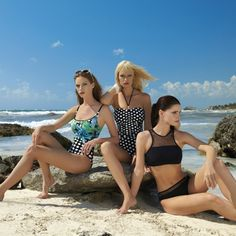 9d69d5e42ee6e2 Sunflair SS 18 Collection - Mastecomy Bikini and Polka Dot one piece.  Bademode, Tupfen