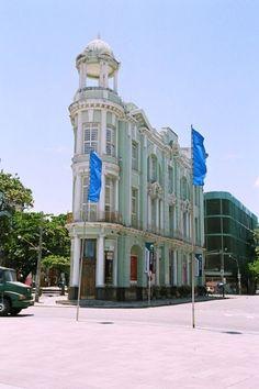 """""""Bairro do Recife Antigo"""". Recife, Estado de Pernambuco. Brasil."""