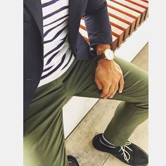 VERTICAL/HORIZONTAL ||#aerialview  A different perspective to my usual posts. Casual simplicity can still be office appropriate. How? Throw on a blazer!  Trading in oxfords and wingtips for these blue suede chukkas (@asos) to complete this classic clean fit. by rule_of_thumbs