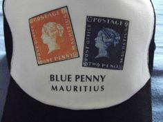 Blue Penny  Red Penny  Mauritius  Mütze  Cappy  Schirmmütze Kopfbedeckung Hut