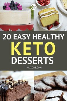 Stay in ketosis but still kick those cravings with a delicious keto dessert! #keto #dessert #recipe