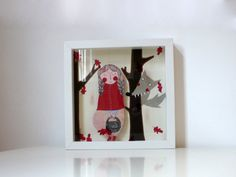 List of some of the top shadow box dioramas on Etsy!