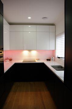 Love the mood lighting #Kitchen