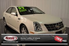 Certified Pre-Owned 2009 CADILLAC STS V8 For Sale in Orlando near Daytona Beach, FL - P90173863