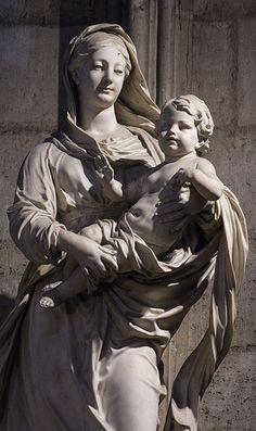 Virgin Mother of God  Notre Dame  de  Paris