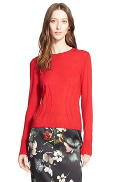 Nordstrom Signature and Caroline Issa Cashmere Blend Pullover available at #Nordstrom