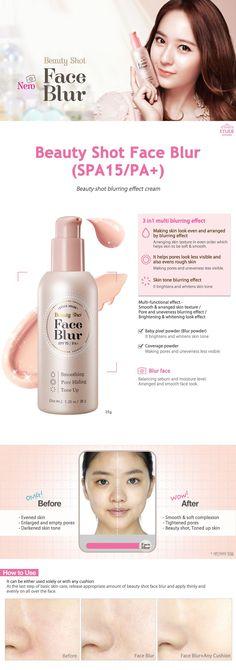 Etude House Beauty Shot Face Blur (SPA15/PA+) 35g - Etude House Beautynetkorea Korean cosmetic