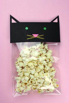 Adorable Kitten Popcorn Bag