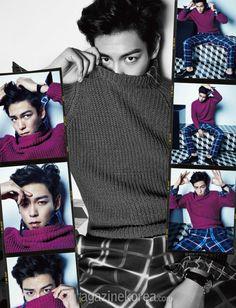 Harper's Bazaar Korea Model: Bigbang's T.O.P September 2014
