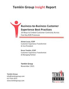 """""""Report: B2B Customer Experience Best Practices""""   #customerservice http://ift.tt/1Ng1mMm"""