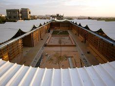 sustainable architecture, Nasser children centre - Gaza, 2011 by UUm