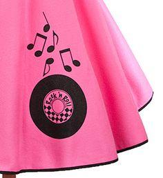 Dance the Night Away!  Circle Skirt - Rock n Roll $32.00