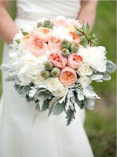 Bouquet by @NICORAH FLORAL , Photo by Kimberly Kay Photography http://www.kimberlykayphoto.com/blog/weddings/nicola-kristopher-wedding-sunriver-resort-sunriver-or-wedding-photographer/