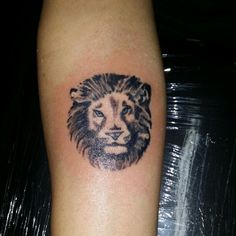 Lil lion tattoo  by Star Bksfinestink.com currently working at chucky's infamous tattoos bronx ny 347-270-9090