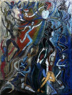 Image result for bruce onobrakpeya artworks