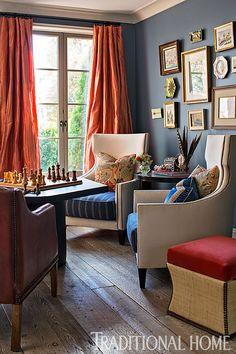 28 orange curtains ideas orange