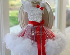 Introducing our New Christmas Design 2014    Stretch ruffled fabric with cute little sequins fully lined in soft satin bridal fabric ,cute