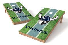 Western Washington Vikings Cornhole Board Set - Field