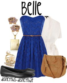 """""""Belle"""" by disneythis-disneythat ❤ liked on Polyvore"""