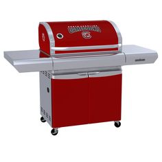 University of South Carolina Gamecocks - first-ever high-end gas grill designed specifically for sports fans in team colors with logo