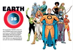 Earth 36 Justice League (DC Multiverse)
