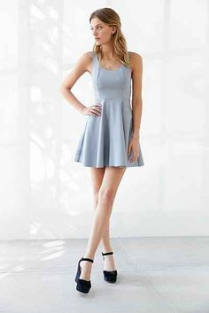 Kimchi Blue Camrin Fit + Flare Dress - Urban Outfitters