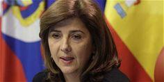 La ministra de Exteriores de Colombia, María Ángela Holguín.