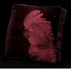 Velvet in a shade of dark berry or wine throws a contrast of Marsala when stroked with the nap.