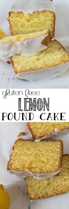 "This Gluten Free Lemon Pound Cake, drizzled with a tart lemony glaze, is the perfect dessert, afternoon snack, or little ""something special"" in your kid's lunch kit."