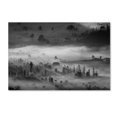 """Trademark Art 'Blanket' Photographic Print on Wrapped Canvas Size: 22"""" H x 32"""" W"""