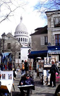 Parijs - Montmartre.