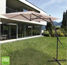 Ombrellone 3x3 ecrù Terrazzo, Outdoor Decor, Design, Home Decor, Aperture, Home, Decoration Home, Room Decor