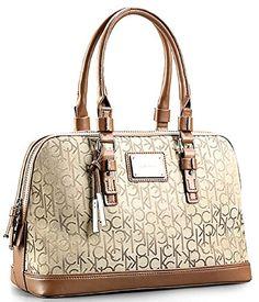 Calvin Klein Logo Jacquard Print Dome Satchel Handbag (Natural) Calvin Klein http://www.amazon.com/dp/B00I8CXL2Q/ref=cm_sw_r_pi_dp_7gXRtb1MYKMZVJ8Q