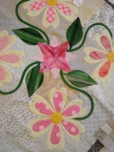 applique blocks, no pattern (i think it's Piece O'Cake)