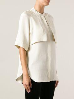 STUDIO NICHOLSON - Marta silk shirt 8