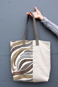 River Flow Tote Bag - Front View