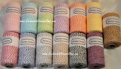 65 yards DIVINE TWINE sampler collection  5 by EnchantedDreamsShop, $9.89